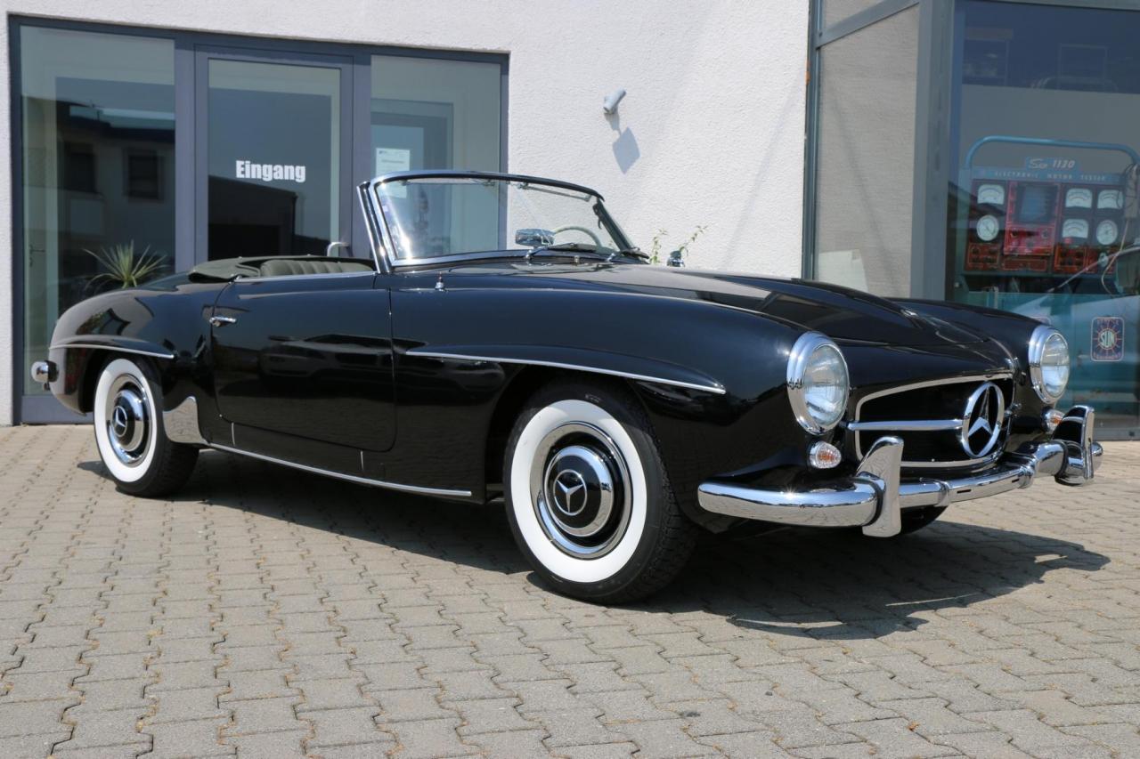 1957 mercedes benz 190sl frame off restoration in for Mercedes benz restoration