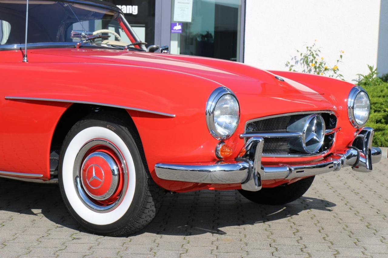 1961 mercedes benz 190sl frame off restoration in progress sl 24 may sciox Images