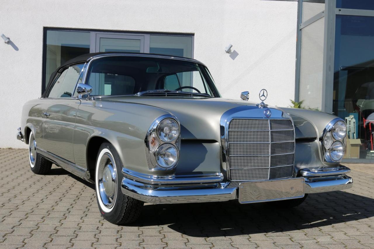 1963 mercedes benz w111 220 seb cabriolet. Black Bedroom Furniture Sets. Home Design Ideas
